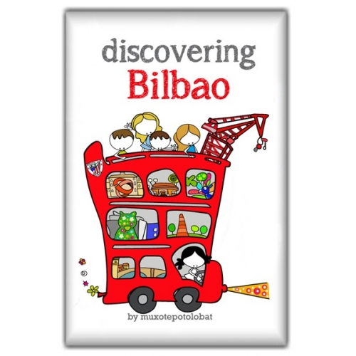 "Imán ""Discovering Bilbao"""