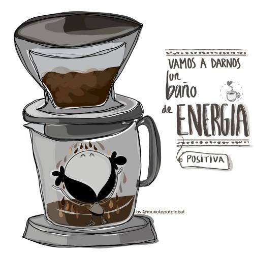"Lámina ""Energía cafetera"""