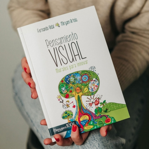 """Libro """"Pensamiento visual"""", por Miryam Artola, by Muxote Potolo Bat"""