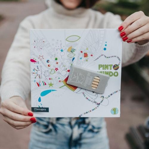 Pinto mi mundo 1 (Libro) by Muxote Potolo Bat