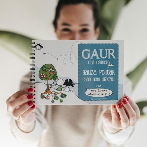 """""""Gaur eta egunero"""", liburua"""