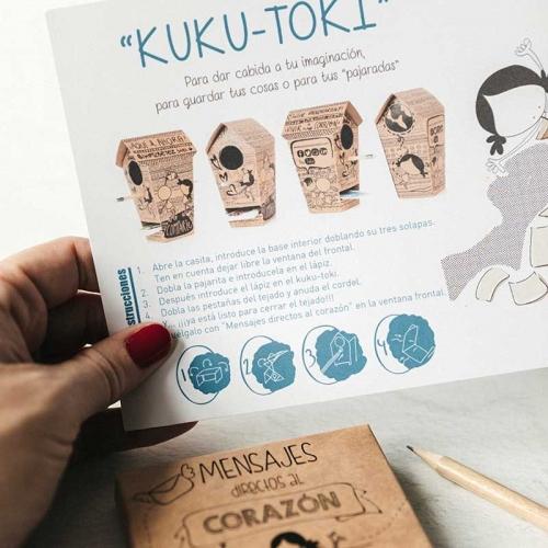 Casa de kuku (+ mensajes directos al corazón)