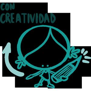 Con creatividad