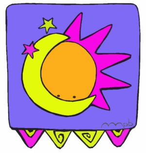"""Ilustración """"Sol y Luna"""" by mpb"""