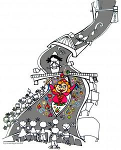 """Ilustración """"Gero arte Marijaia!!"""" by mpb"""