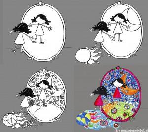 """Ilustración """"Espejos"""" by mpb"""