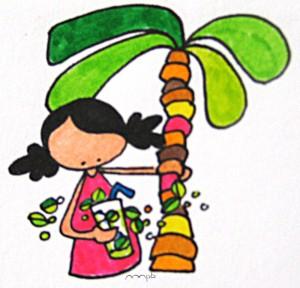 """Ilustración """"mojito"""" by mpb"""