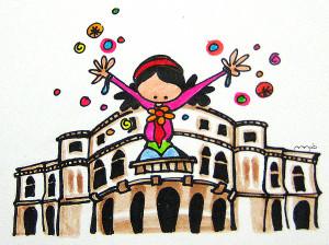 """Ilustración """"Marijaia dator!"""" by mpb"""
