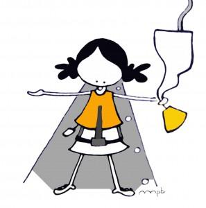"Ilustración ""air hostess"" by mpb"