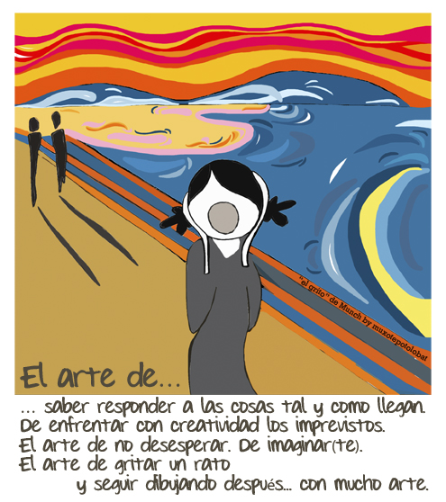 El grito de Munch by muxotepotolobat