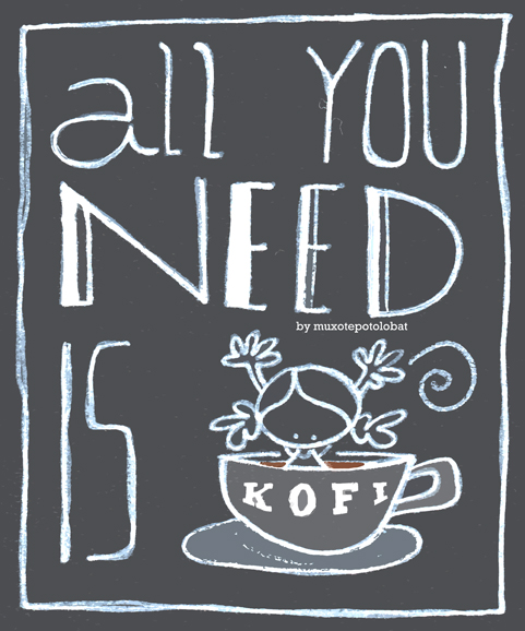 all you need is kofi web