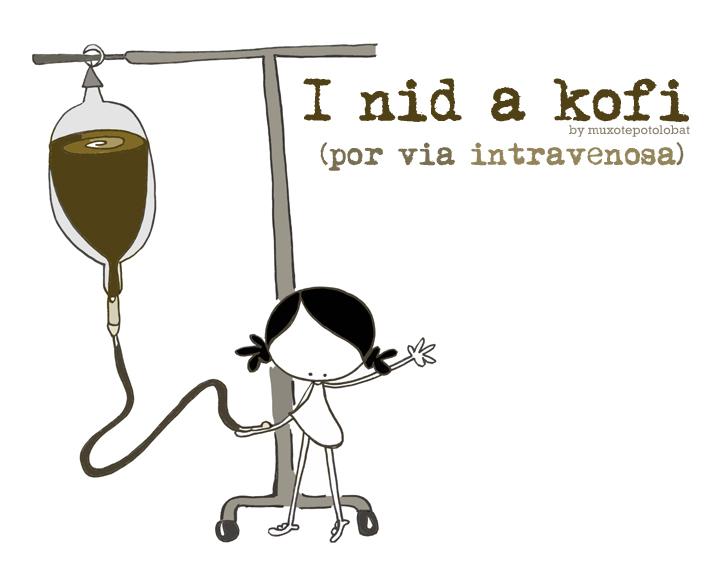 I nid a kofi (intravenosa) web