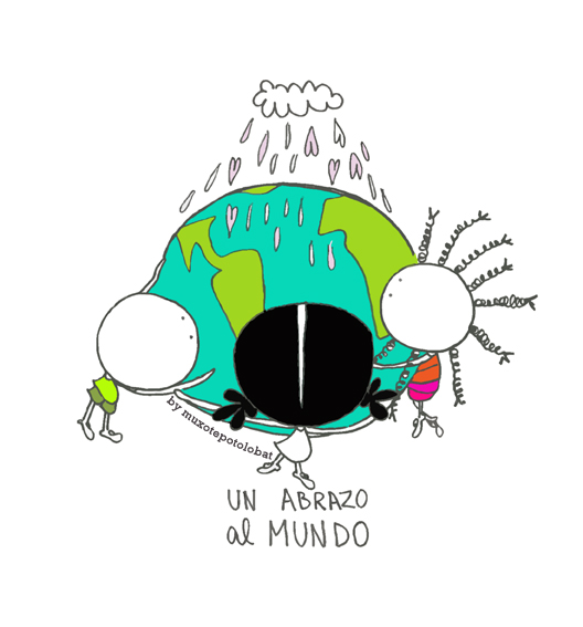 abrazo al mundo