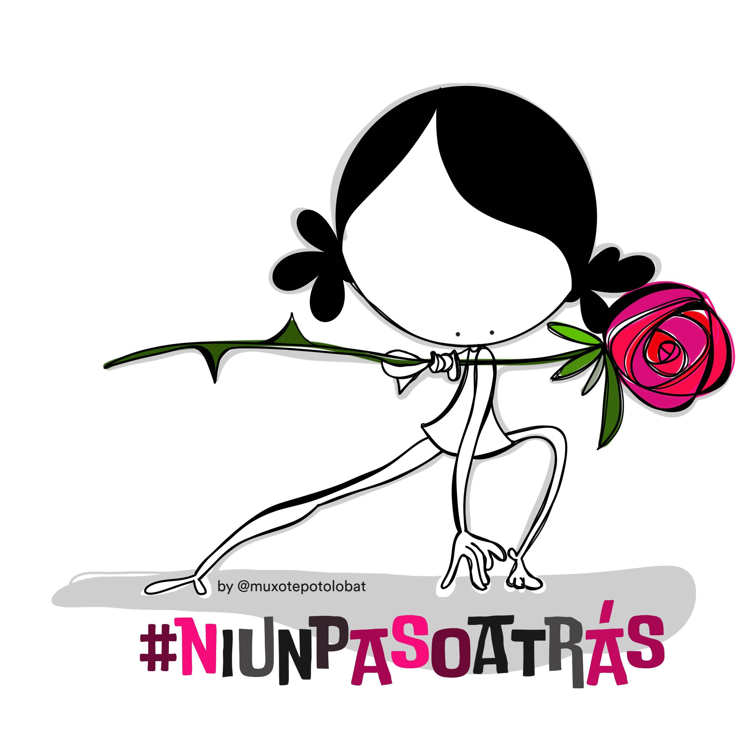 #niunpasoatrás