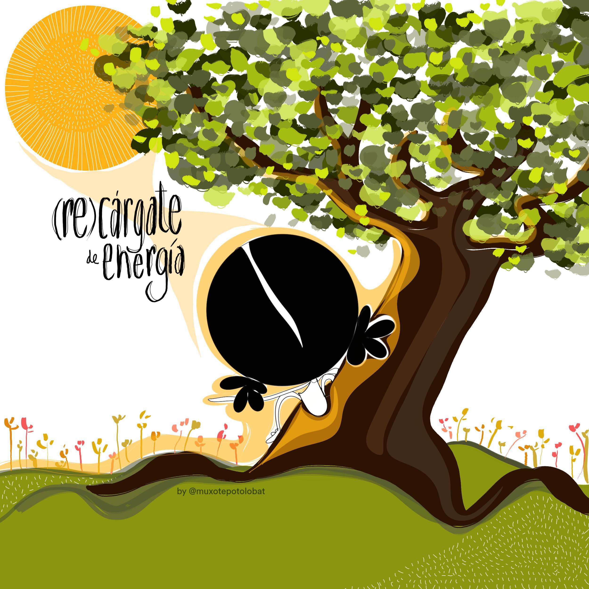 (re)cárgate de energía by Muxote Potolo Bat